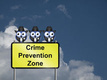 Crime Prevention USA Stock Photo