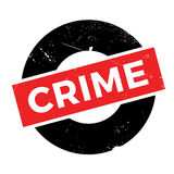 Crime rubber stamp Stock Images