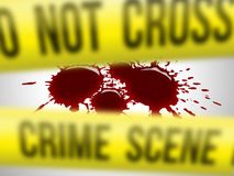 Crime scene Stock Photos