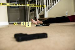 Crime scene Royalty Free Stock Images