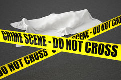 Crime scene concept Royalty Free Stock Image