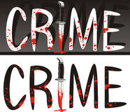 Crime scene - crime of passion Royalty Free Stock Image