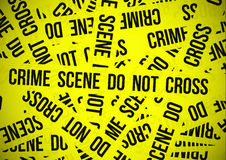 Crime scene do not cross Royalty Free Stock Photos