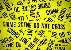 Crime scene do not cross Royalty Free Stock Photos