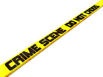 Crime scene do not cross Royalty Free Stock Photography