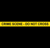 CRIME SCENE - DO NOT CROSS. This image represents CRIME SCENE - DO NOT CROSS Stock Image