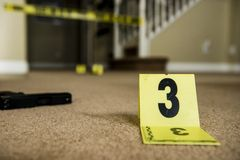 Crime scene Royalty Free Stock Photography