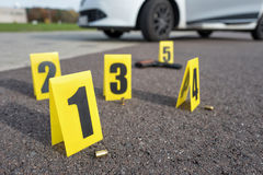 Crime scene Stock Images