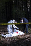 Crime Scene Investigation Stock Image