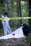 Crime Scene Investigation Royalty Free Stock Photos