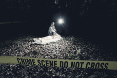 Crime Scene Investigation Stock Photos