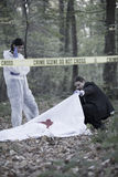 Crime Scene Investigation Stock Photography