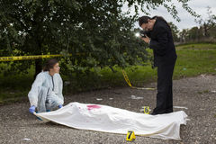 Crime Scene Investigation Stock Images