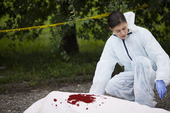Crime Scene Investigation Royalty Free Stock Images