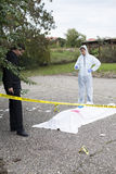 Crime Scene Investigation Royalty Free Stock Image