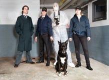 Crime Scene Investigators royalty free stock photos