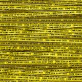 Crime scene tape Stock Photos