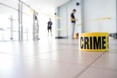 Crime scene Stock Photography