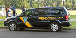 Crime Scene Unit Royalty Free Stock Photography