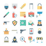 Crime and Security Vector Icons 4 Stock Photo