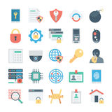 Crime and Security Vector Icons 2 Stock Image