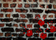Crime Wall Background Royalty Free Stock Photography