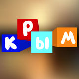 Crimea. abstract blurred bakground. banner design.  Royalty Free Stock Photography