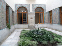 Crimea. Arab court yard of the Big Livadiysky palace Stock Photo