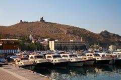 Crimea. Balaclava Zdjęcia Stock