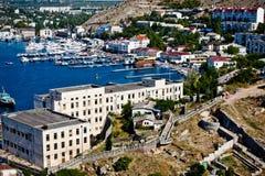 Crimea, Balaklava bay Stock Photos