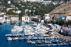 Crimea, Balaklava bay Royalty Free Stock Images
