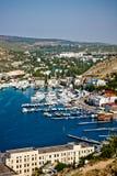 Crimea, Balaklava bay Stock Photo