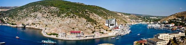 Crimea, Balaklava bay Royalty Free Stock Images