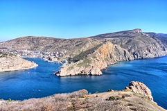 Crimea, Balaklava bay Royalty Free Stock Photography