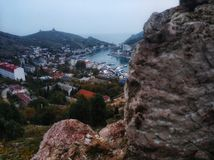 Balaklava. Crimea, Balaklava. So beautiful place in this world royalty free stock photo
