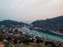 Balaklava. Crimea, Balaklava. So beautiful place in this world stock photography