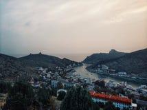 Balaklava. Crimea, Balaklava. So beautiful place in this world stock photo