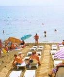 Crimea beach Royalty Free Stock Photos