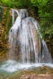Crimea beautiful falls Stock Photos