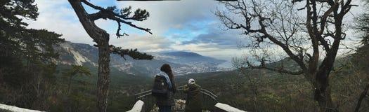Crimea. Beautiful panorama view Stock Image