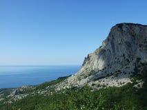 crimea berg near phoros Royaltyfri Foto