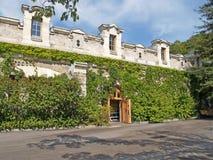 Crimea. Building a wine cellar, wine-making plant Massandra Royalty Free Stock Photography