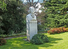 Crimea. Bust of the botanist Christiaan Stewen (1781-1863).  Stock Photography