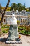 Crimea. Bust of the Prince L.S. Golitsyn Stock Photos