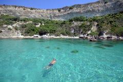 Crimea, Cape Fiolent, Alexandra Bay. royalty free stock photos