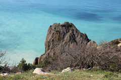 Crimea.Cape Fiolent Royalty Free Stock Photo