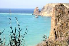 Crimea.Cape Fiolent Royalty Free Stock Photos