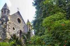 Crimea Church or Crimean Memorial Church Istanbul's Beyoglu dist. Istanbul, Turkey - September 9, 2012: Crimea or the Crimean Memorial Church is the Church of Royalty Free Stock Image