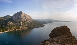 Crimea coast Royalty Free Stock Photos