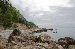 Crimea coast Royalty Free Stock Images